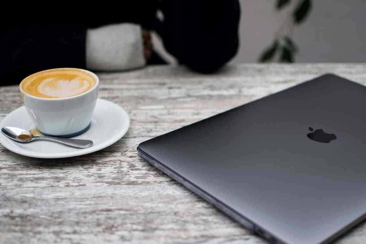 café et macbook