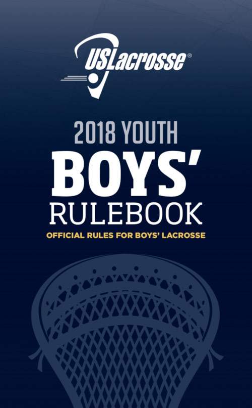 Rulebook for Boys Youth Lacrosse