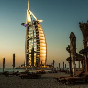 Burg Al Arab-Dubai-sunrise