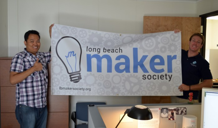 Long Beach Maker Society Banner