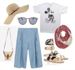Mickey-Culottes-Look
