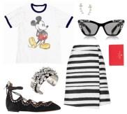 Mickey-Striped-Skirt-Look-