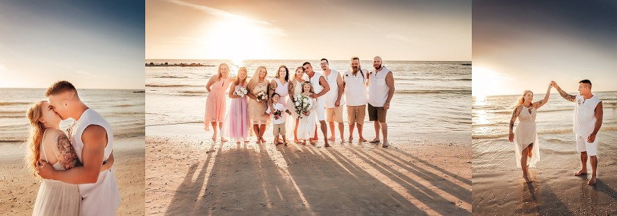 Wedding ceremony pictures for Honeymoon Island Wedding by Wedding photographer in Tampa