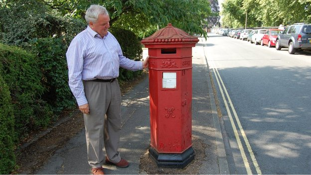 Chelthenham's Rare Penfold Post Boxes