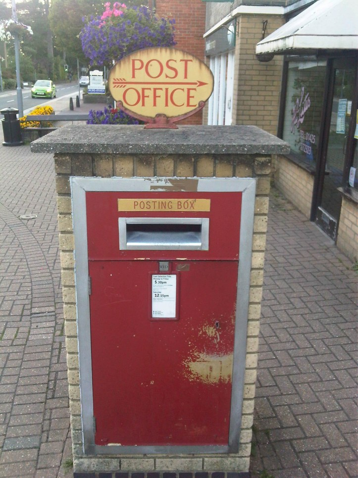 E2R pillar box, 1970s, Dorset. Robert Cole