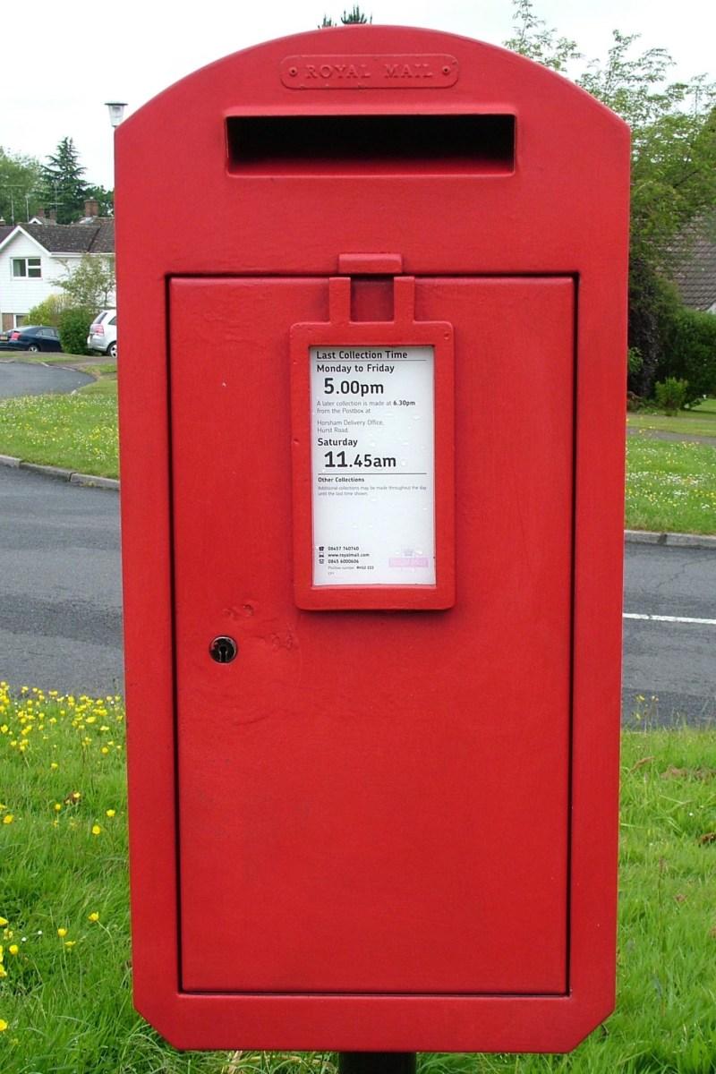 E2R pedestal box, 2000s, Sussex. Gerry Cork