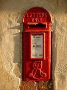 E7R lamp box 1900s, Dorset. Chris Downer
