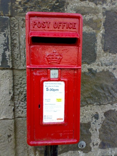 ER lamp box, 1980s, Edinburgh. Robert Cole