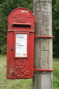 E7R lamp box, 1900s. Surrey. Robert Cole