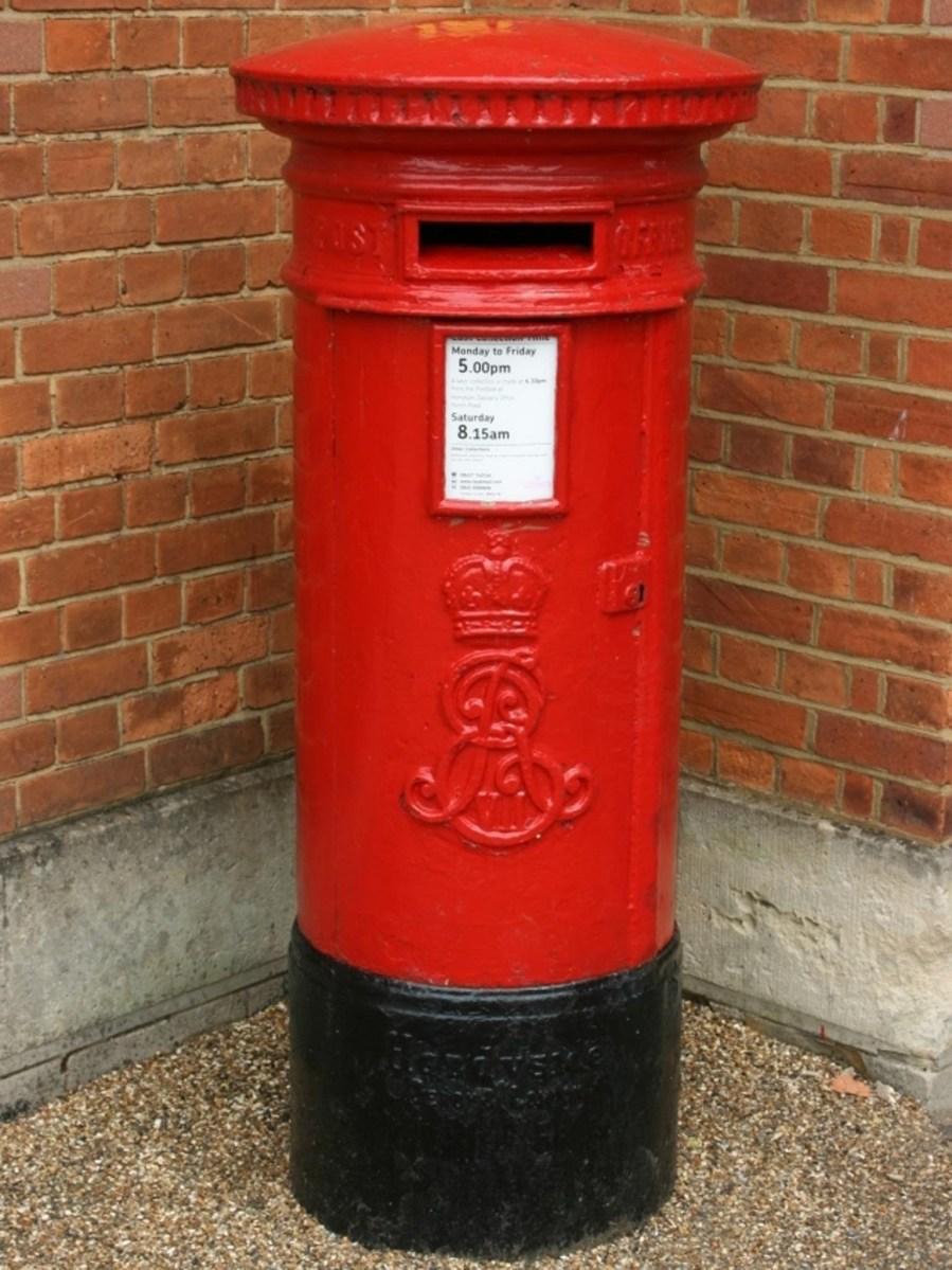 E7R pillar box, 1900s, Sussex. Ray Smith
