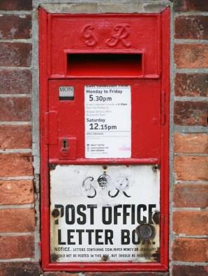 G6R Ludlow wall box, 1930s, Surrey. Robert Cole