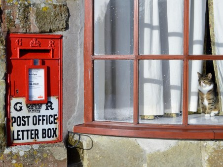 GR Ludlow wall box, 1940s, Wilts. Mike Smith