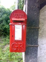 GR lamp box, 1920s, Surrey. Robert Cole