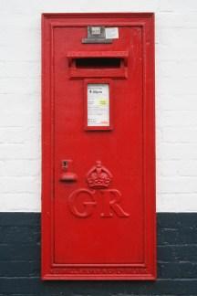 GR wall box 1930s, Suffolk. Robert Cole