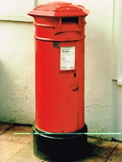 VR pillar box, 1860s, Sussex. Simon Vaughan Winter.