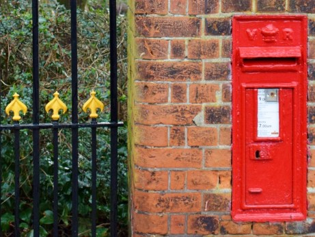 VR wall box, 1890s, Suffolk. Mike Smith