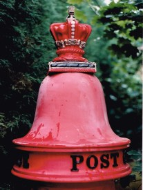VR Giant Fluted pillar box, 1850s, Herts. Simon Vaughan Winter