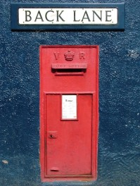 VR wall box, 1890s, Mid Wales. Gerry Cork