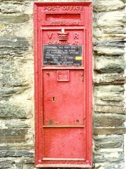 VR wall box, 1850s, Cornwall. Martin Robinson