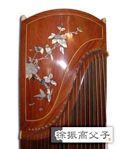 紅木貝雕古箏(款二) HKD $18000