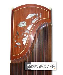紅木貝雕古箏 (款四)HKD $18000