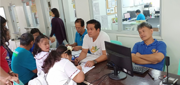Every vote matters. Learners during their voter's registration process inside the COMELEC Office of Los Baños Municipal Hall, Los Baños, Laguna.