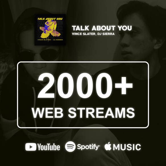 Forty Thirty's first song. Talk About You, hitting 2000+ web streams last May 2021. Photo taken from the Forty Thirty Facebook page.