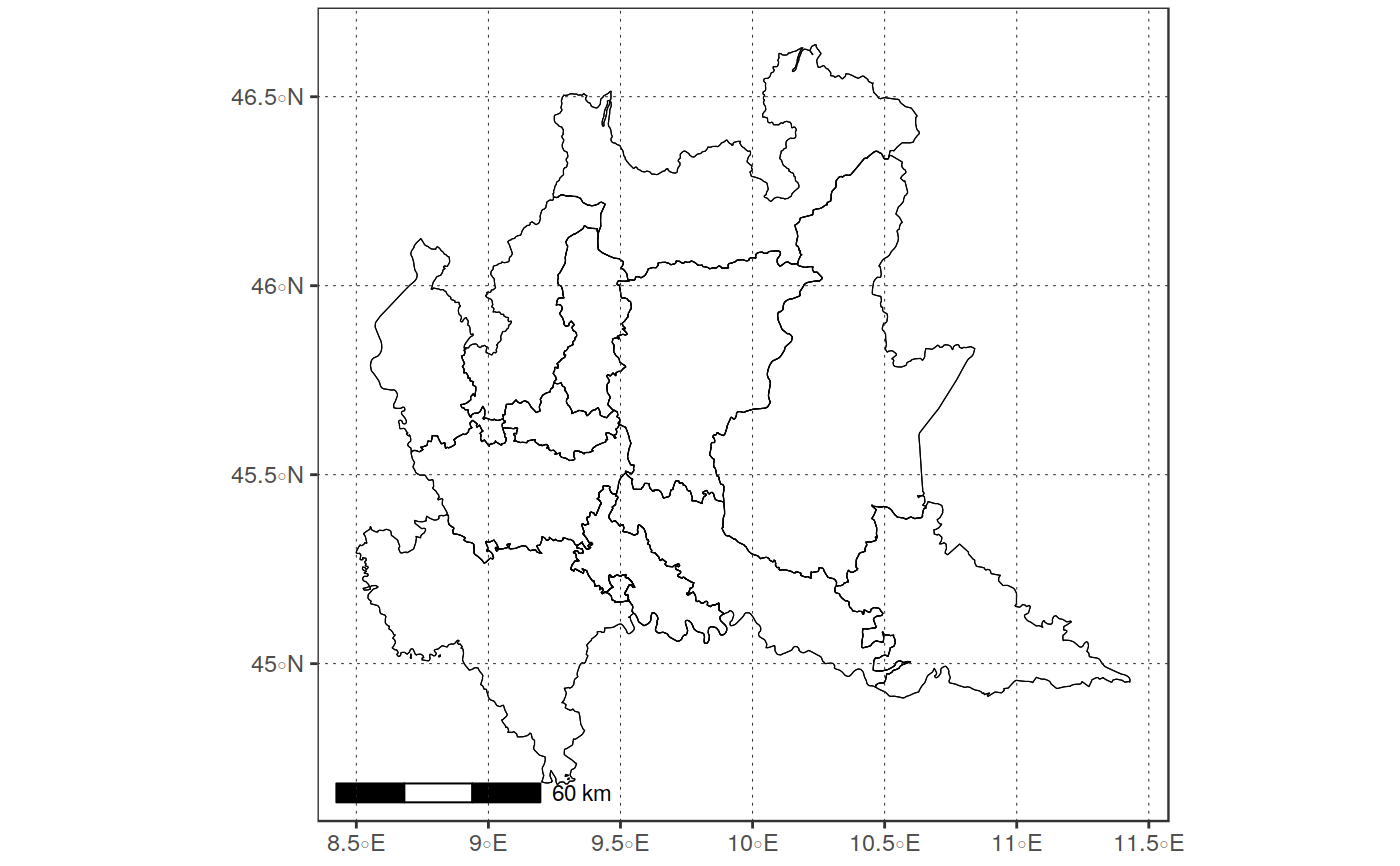 Plot A Map Based On A Vector Object Using Ggplot Geom Sf