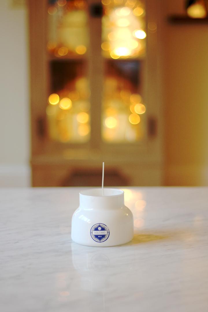 DIY Volcano Candle