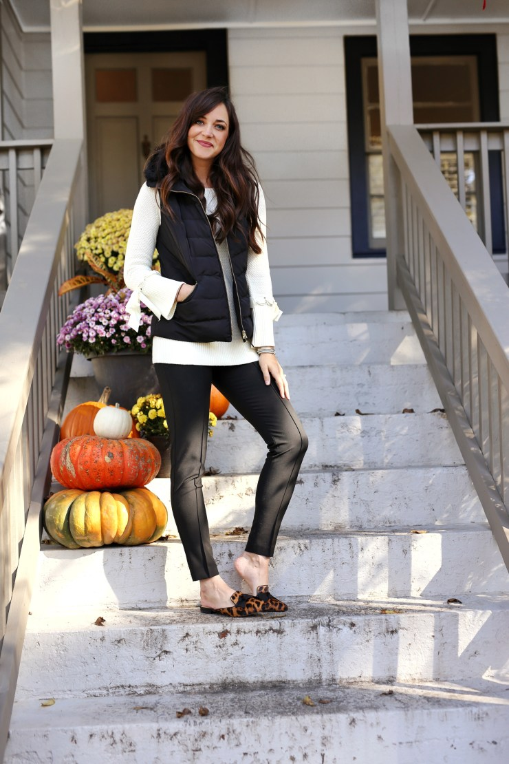 fall front porch // LC steele // Talbots