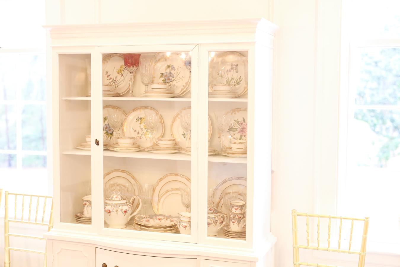 Baby Shower China Cabinet
