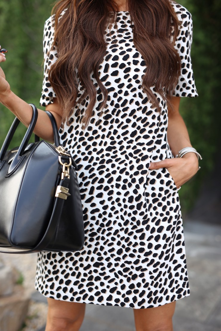 Ann Taylor Spotted dress