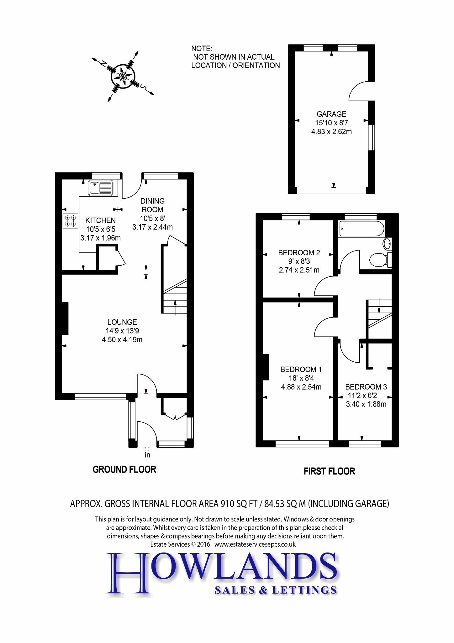 Gloucester Road Bagshot Gu19 3 Bedroom Terraced House