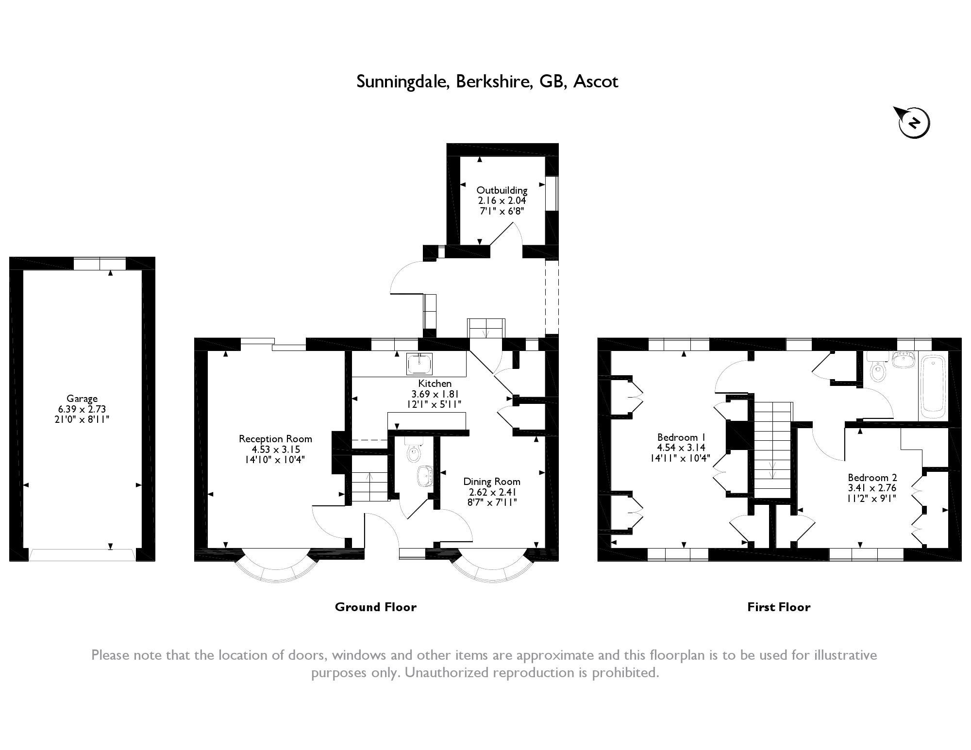 Park Drive Sunningdale Ascot Berkshire Sl5 2 Bedroom