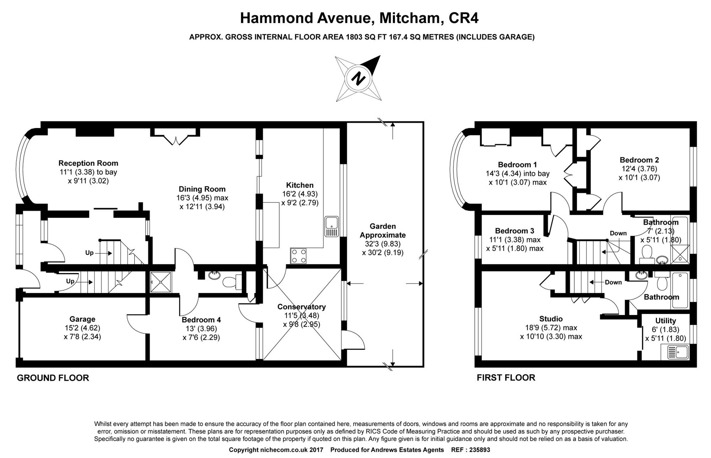 5 Bed Semi Detached House For Sale In Hammond Avenue