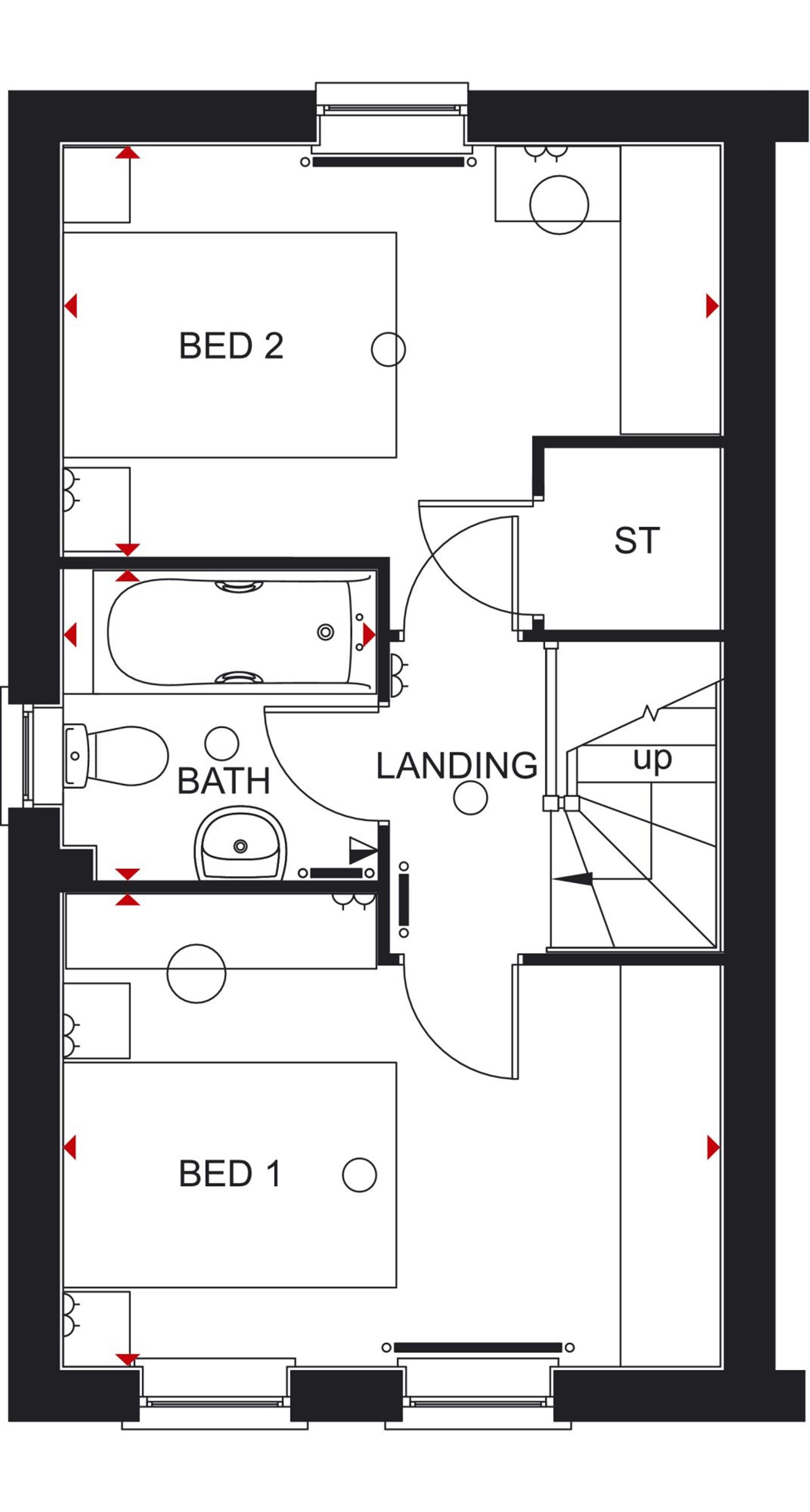 Barratt Homes Lincoln Floor Plan
