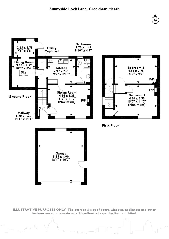 2 Bedroom Cottage For Sale