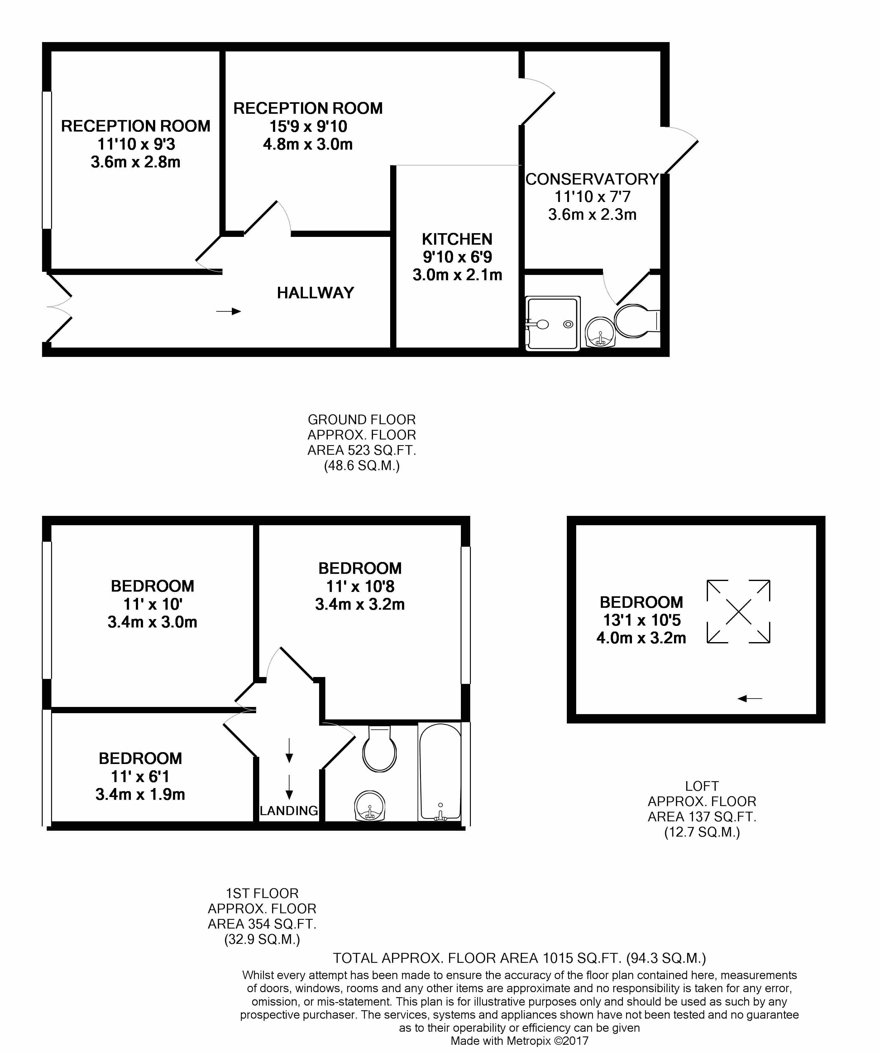 Stevenage Road London E6 4 Bedroom Terraced House For