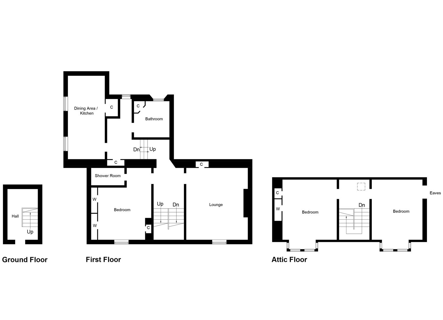 3 Bedroom Flat Diagram