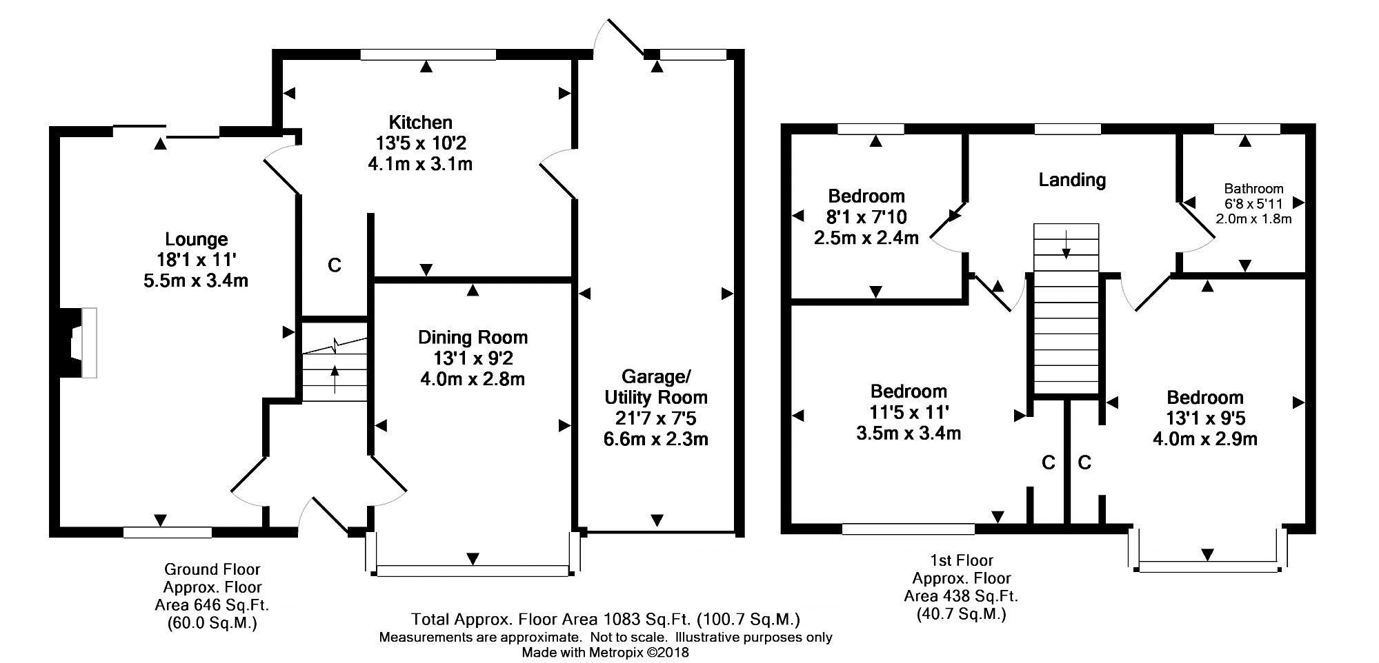 Manor Green Road Epsom Kt19 3 Bedroom Detached House For