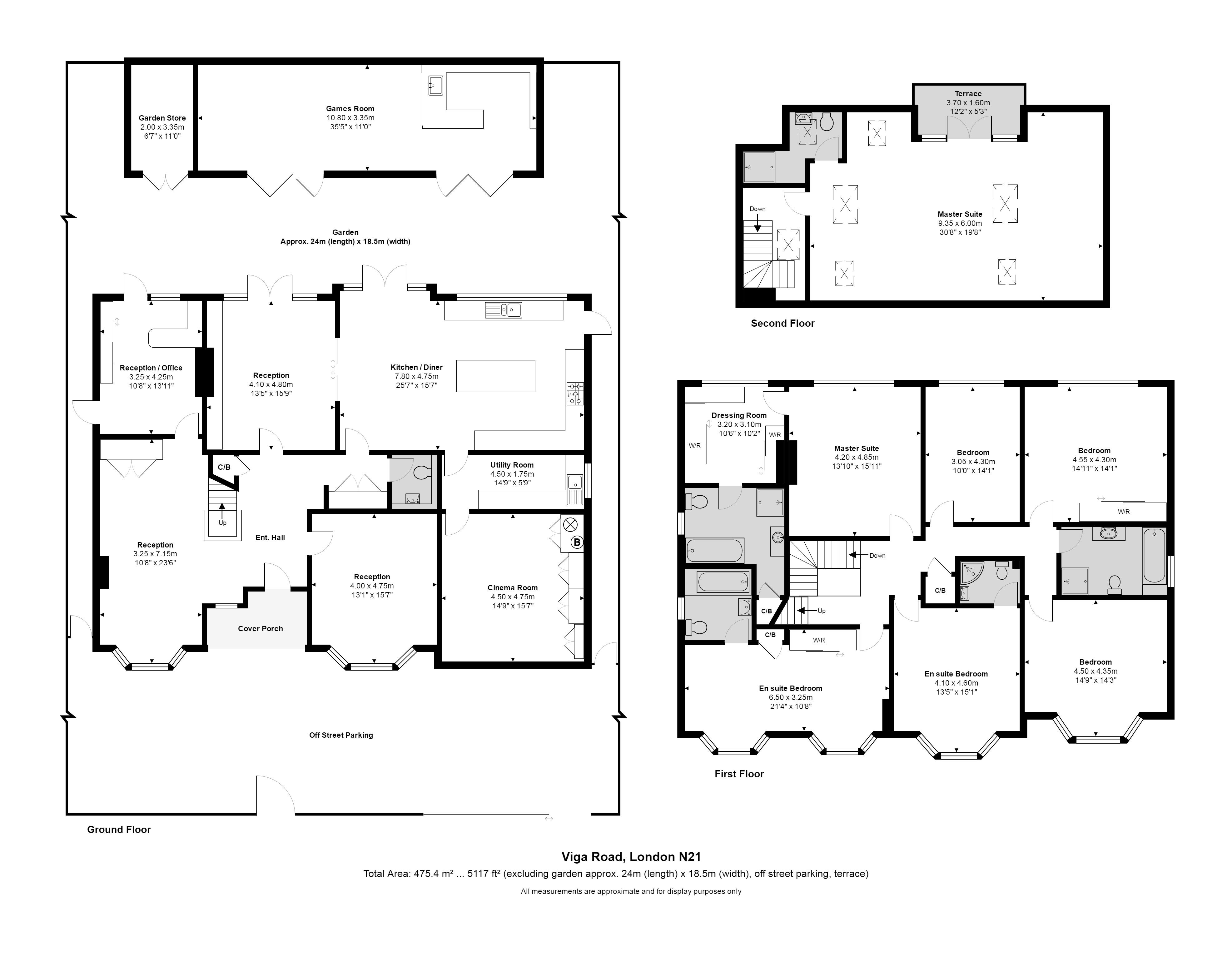 Viga Road Grange Park N21 7 Bedroom Detached House For