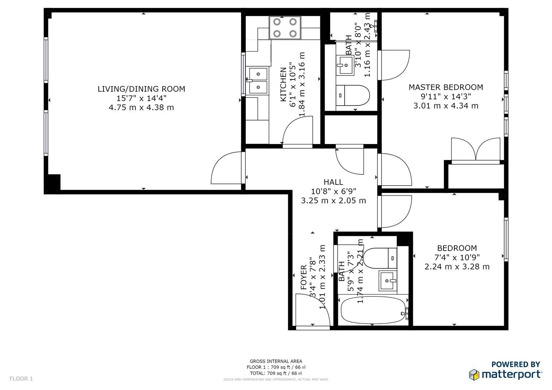 2 Bed Flat To Rent In Pilgrims Court 2 3 Carthusian Street London Ec1m