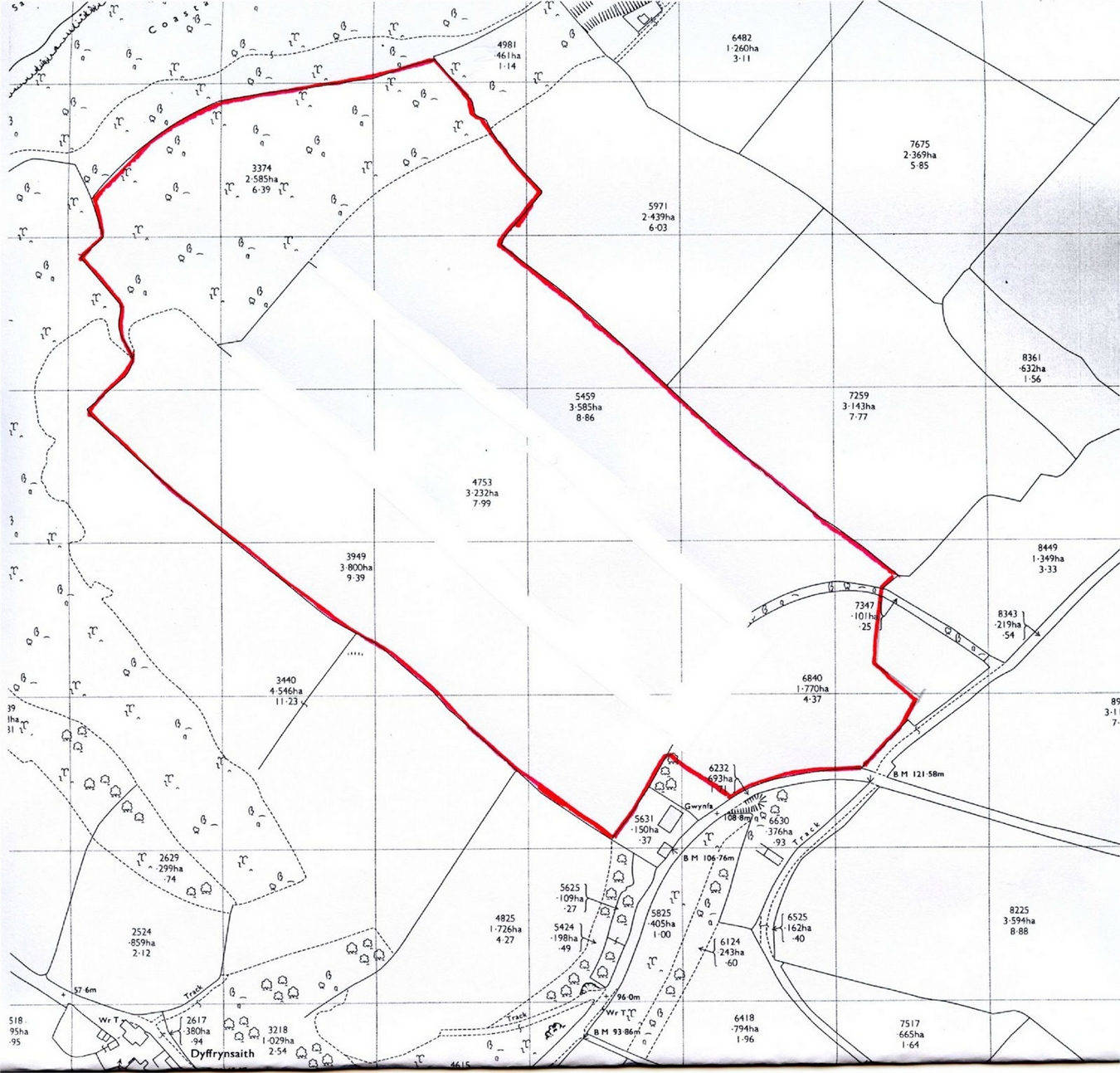 Land For Sale In 36 Acres Land At Penbryn Tresaith