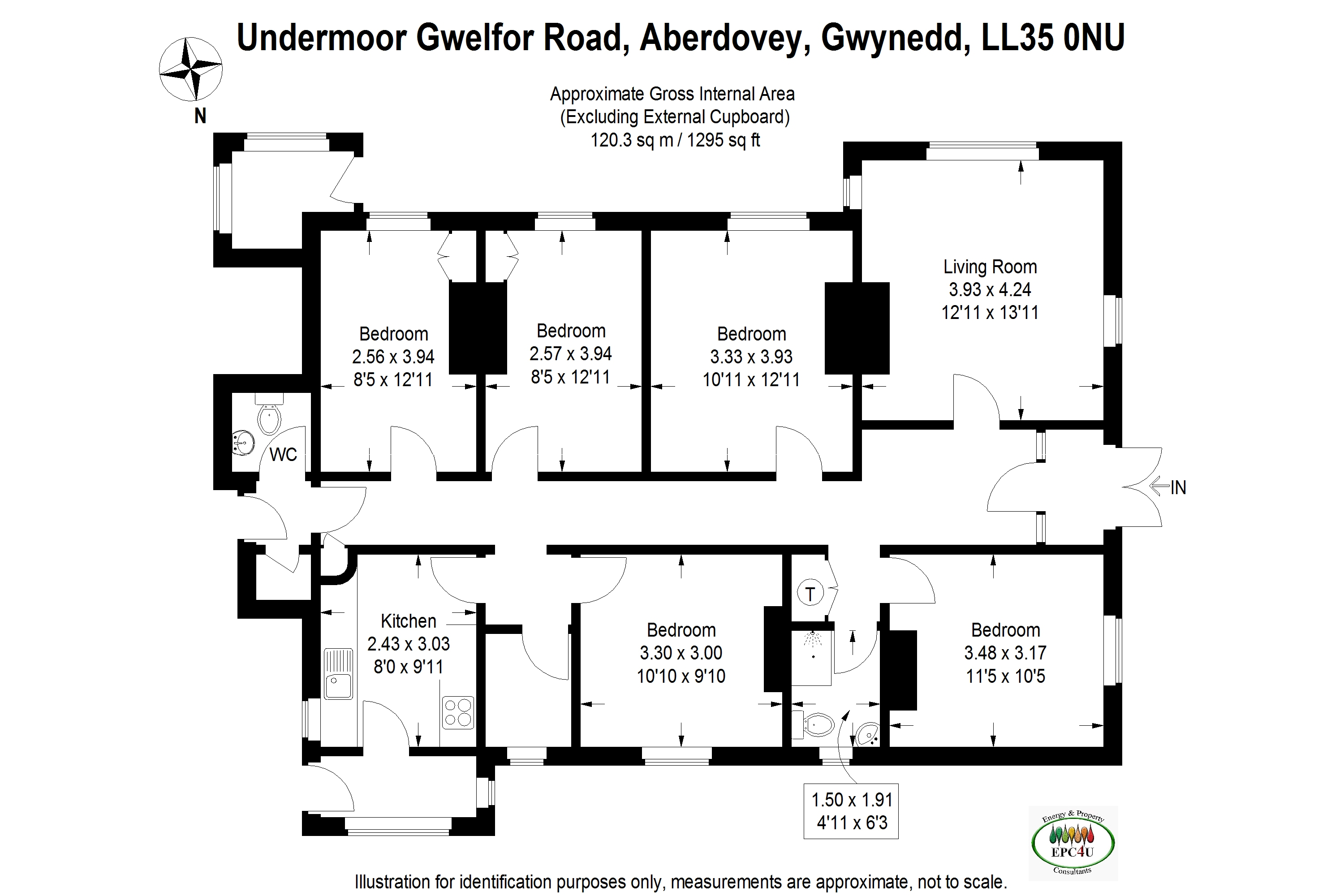 5 Bed Detached Bungalow For Sale In Gwelfor Road Aberdovey Gwynedd Ll35