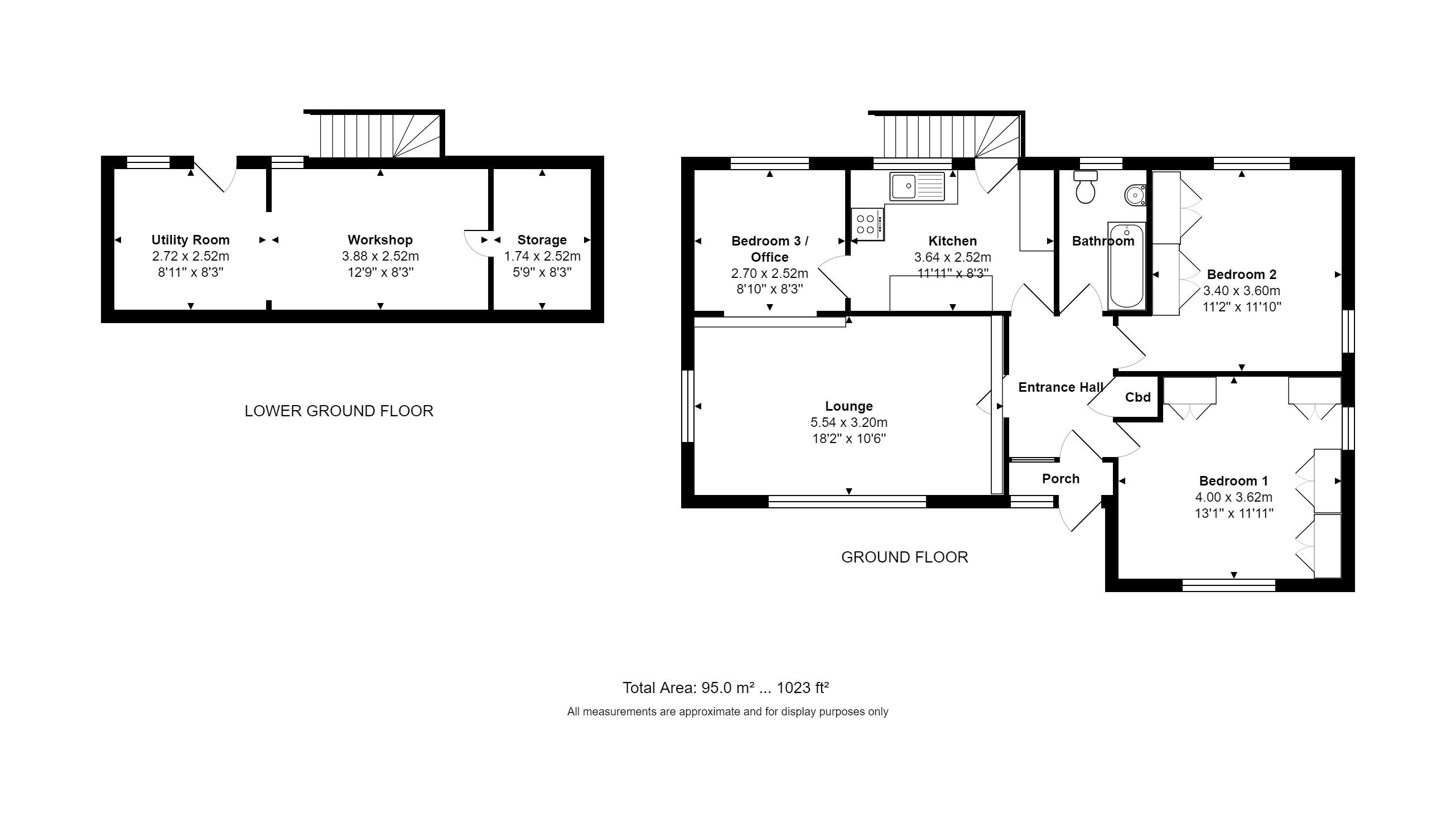 Churchfield Lane Castleford Wf10 2 Bedroom Detached