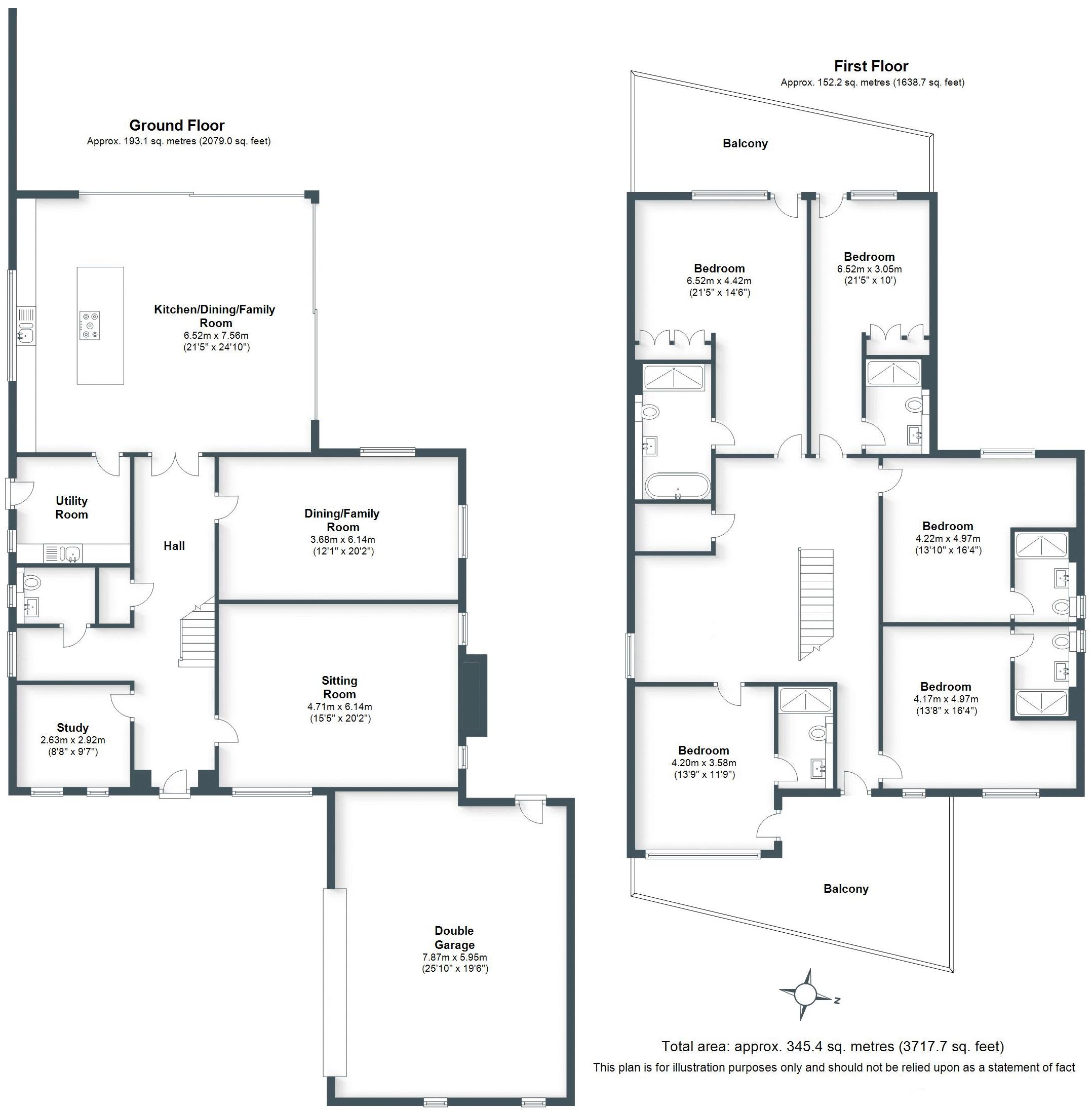 5 Bed Detached House For Sale In Gibbet Hill Road