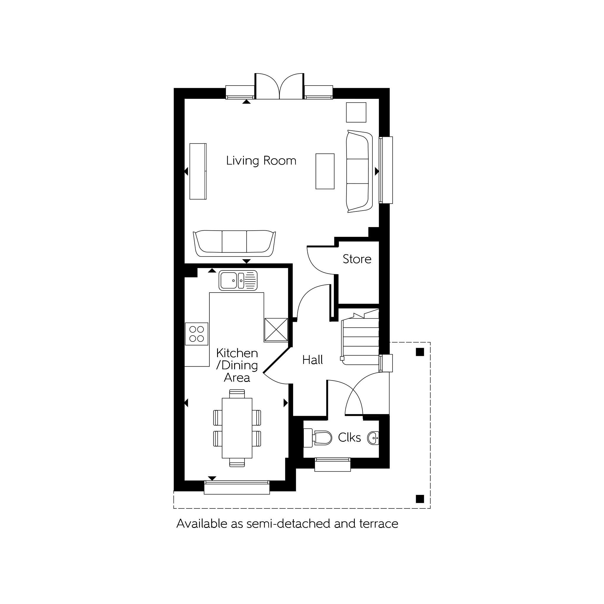 Bellway At Qeii Howlands Welwyn Garden City Al7 4 Bedroom Semi Detached House For Sale