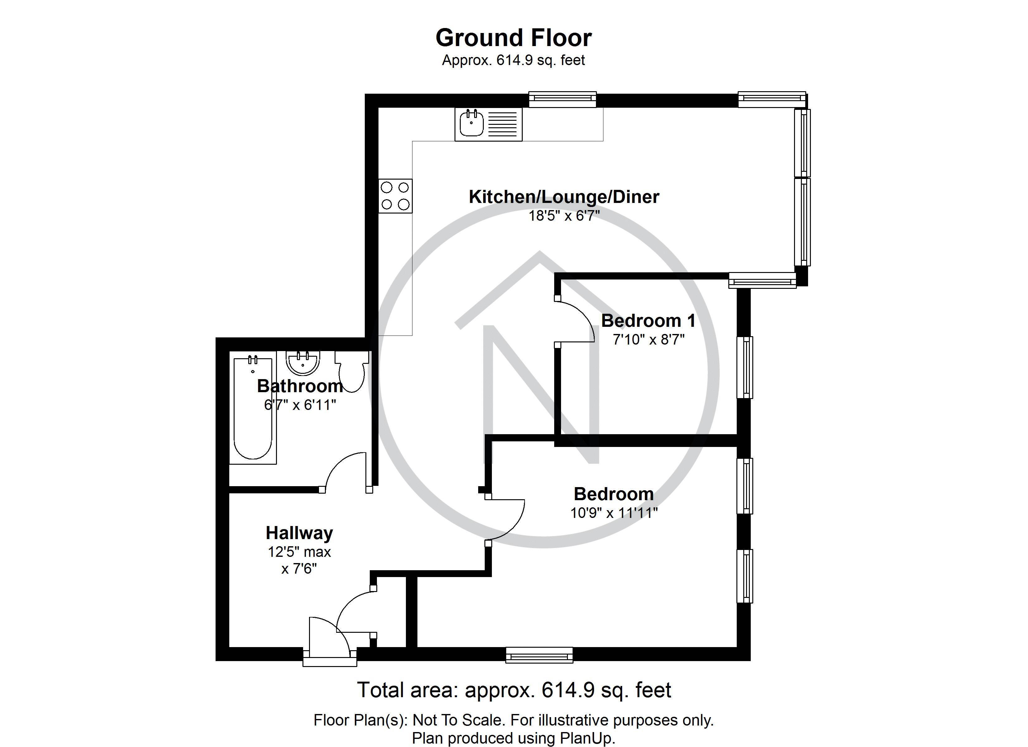 Woodland Road Darlington Dl3 2 Bedroom Flat For Sale