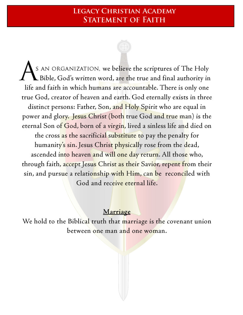 LCA Statement of Faith