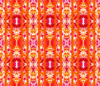 Orange Ribbon - http://www.spoonflower.com/fabric/5392027-orange-tile-by-lacartera